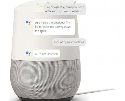 Google Assistant AI Chatbot