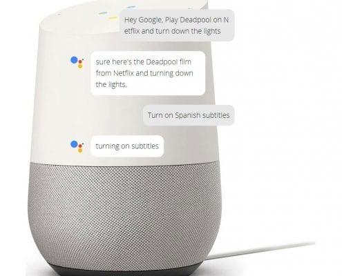 Google Assistant AI Chatbot