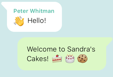 WhatsApp Welcome Message